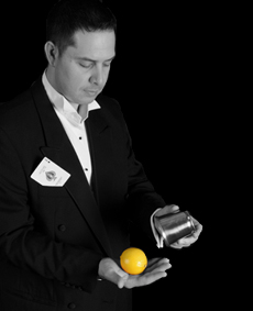 Table magician in Gloucestershire